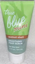 Bath Body Works True Blue WALNUT SHELL Smoothing Foot Scrub Mini 1.5 oz/44mL New