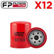 12 x BD7029 Dual Flow Oil Filter (RYCO Z334) - Suits 4.2L T/Diesel Landcruiser