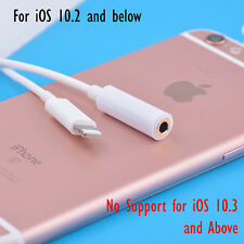 iPhone 7/7Plus to 3.5mm Earphone Headphone Audio Adapter Cable up to iOS 10.2