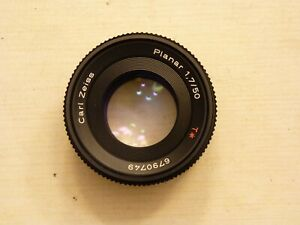 Carl Zeiss Planar 50mm f1.7 Lens, CONTAX YASHICA C/Y Mount