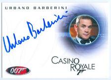 """URBANO BARBERINI """"TOMELLI AUTOGRAPH CARD A106"""" JAMES BOND IN MOTION"""