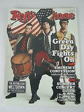 Rolling Stone Magazine #1079 / Green Day,Eminem,Paramore,Lady Gaga / May 2009