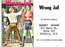 Wrong Jail Monty Farrel 1968 cover illustration by Eric Stanton PDF ebook on CD