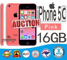 Apple iPhone 5C 16GB PINK Smartphone as NEW UNLOCK FAST Shipping GIFT WARRANTY