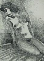 Carl Heinz STRICKER 1926 - 2003 - Akt einer erotischen Frau