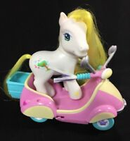 My little pony Scootin Along w Breezie 2004 Pull Back Skooter Butterfly Island