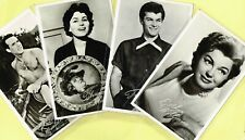 TAKKEN (Netherlands) - 1950s ☆ FILM STAR ☆ Postcards #AX1526 to #AX1713