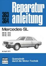 MERCEDES SL SLC Typ 107 280 350 450 Reparaturanleitung Reparaturbuch Handbuch