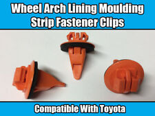 50x New Clips For Toyota Land Cruiser Prado Wheel Arch Trim Orange Plastic