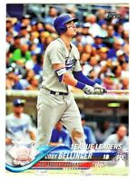 2018 Topps LEAGUE LEADERS #114 CODY BELLINGER Los Angeles Dodgers QTY AVAILABLE