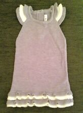 "AS NEW "" Jack & Milly "" 00 - GREY & CREME KNITTED DRESS - GREAT MID SEASON"