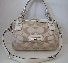 COACH Kristin Signature Double Zip Satchel 22305 Authentic Women's Handbag