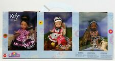 2002 Mattel Toys R Us Exclusive Spain The Netherlands And Kenya Kelly Dolls Nrfb