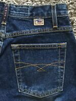Womens Cruel Girl Low Rise Relaxed Fit Med Denim Heavyweight Jeans 1 short NWOT
