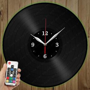 LED Vinyl Clock Vinyl Records LED Wall Decor Art Clock Original Gift 145