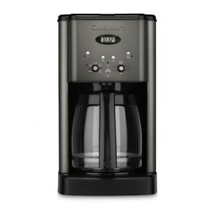 Cuisinart 12 Cup Programmable Coffeemaker Black Stainless