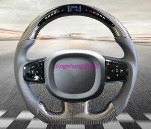 Carbon fiber LED steering wheel For Volvo XC60 XC70 XC90 S90 S60L V40 V50 V60