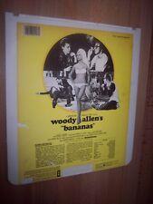 1982 Woody Allen Bananas CED Videodisc