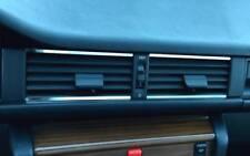 D Mercedes W124 Chrom Streben für Lüftungsschacht Mitte - Edelstahl poliert