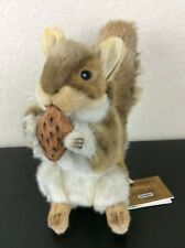 "Hansa Portraits of Nature, 10"" Red Squirrel Plush (with Tags)"