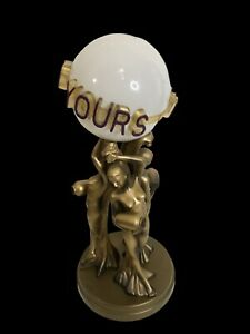Scarface The World Is Yours Vintage Rabbit Tanaka Art Nouveau Deco Lamp Nudes