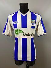 MALAGA 2002/2003 HOME FOOTBALL SOCCER SHIRT JERSEY ADULT UMBRO SIZE L