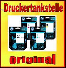 original Multipack HP 10 11 C4844A C4836A C4837A C4838A Color Inkjet 1700 2600