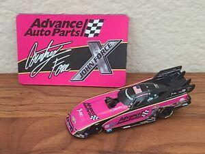 2018 Courtney Force Advance Pink Funny Car NHRA 1/64 NASCAR Authentics Loose