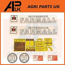 International Harvester IH McCormick Farmall H Tractor Hood Decal Sticker Set