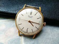 Poljot Vintage Soviet Watch Old cal.2609 1 MChZ  Rare Collectible Gold Plated
