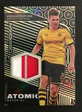 2019-20 Panini Obsidian Lukasz Piszczek Atomic Patch Yellow #6/10 Dortmund