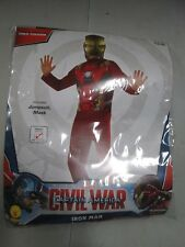 Captain America Civil War Iron Man Child Costume Small 4-6