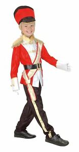 Boys Toy Soldier Costume Nutcracker Christmas Child Fancy Dress Outfit