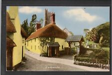 Luccombe Somerset 1950's ? F Frith Postcard ~ GOOD QUALITY CARD