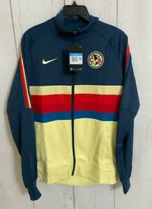 Men's Nike Club America 20/21 Soccer Track Jacket Rare Sweater CI9222-454 Sz M