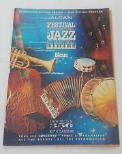 international jazz festival 1992 official program , canadian - montreal