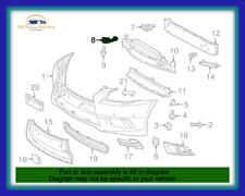 OEM LEXUS 13-17 LS460 13-16 LS600H FRONT BUMPER INNER BRACKET RETAINER RH LH SET
