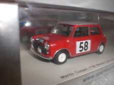 Spark 1189 - Morris Cooper Monte Carlo Rallye 1963 #58 - 1:43 Made in China