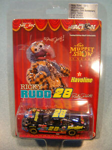 The Muppet Show 25th Anniv 2002 Ricky Rudd HAVOLINE Ford #28 Action 1/64 NEW