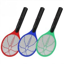 Electric Fly Insect Swatter Bug Mosquito Wasp Zapper Killer Rechargeable/Battery