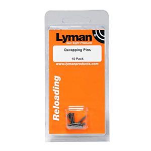 Lyman Decapping Pins Paquete de 10 Lyman Decapping Pins