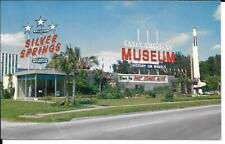 Postcard Florida Silver Springs Early American Museum Unposted Linen