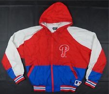 Rare Vintage FELCO Philadelphia Phillies Windbreaker Jacket 90s Pro Motion Y XL