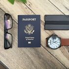 HD Wallet, aluminum RFID blocking minimalist wallet money clip slim