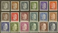Stamp Germany Ukraine Mi 1-18 Set 1941 WWII War 3rd Reich Hitler Occupation MNG