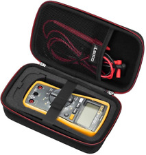 Rlsoco Carrying Case Compatible For Fluke 117115116114113177178179 Dig