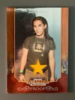 2009 Donruss Americana #58 James Duval Proof Shirt Relic /100 Gone in 60 Seconds
