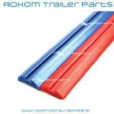 3 Meter Boat Trailer Plastic Grooved Trailer Skid. Teflon Trailer Slides Blue.