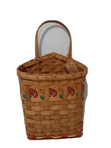 """Ganz Wall Hanging Basket for Dried Flowers 8"""""""