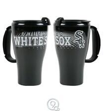 MLB Baseball Chicago White Sox 16 Ounce Roadster Tumbler Travel Mug Coffee Cup